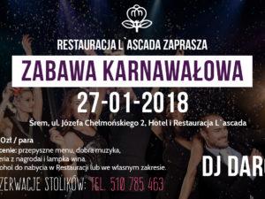 Zabawa Karnawałowa 2018